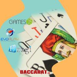 Meilleurs jeux de baccara